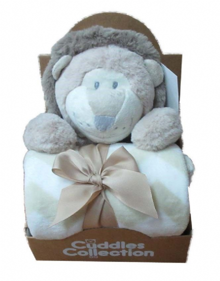 Teddy & Blanket Gift Set